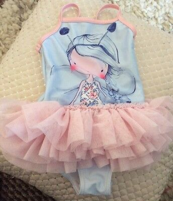 Next Baby Girl 12-18 Months Swimsuit