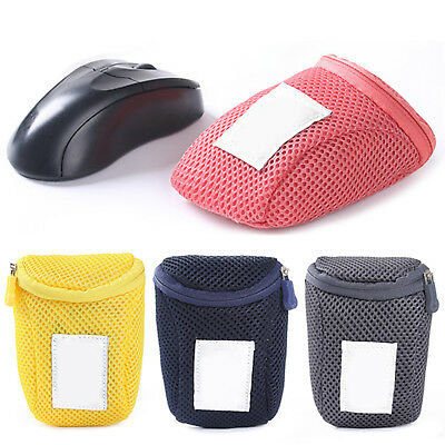 Travel Portable Mouse USB Computer Accessory Pouch Bag Carry Case Cover Bags UP