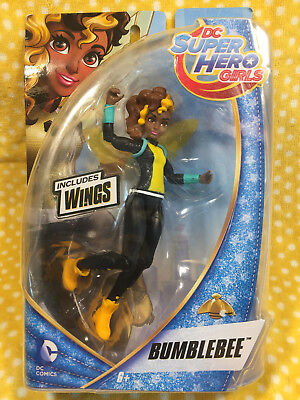 """2015 DC Super Hero Girls Dolls Bumble Bee 6"""" Action Figure- Rare Doll!!"""
