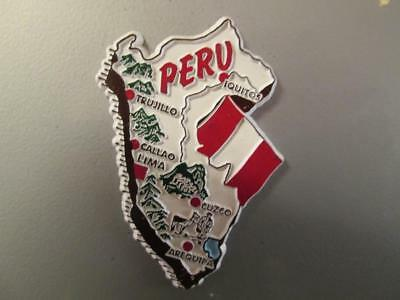 BRAND NEW souvenir fridge magnet PERU