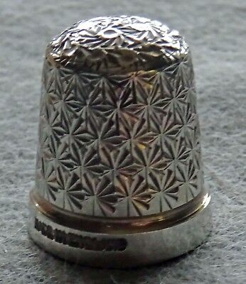 English Sterling Silver Childs Thimble