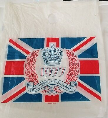 20 Vintage Foreign ShopBags-Queen's 25th SILVER Jubilee, Harrods, KaDeWe-MORE!