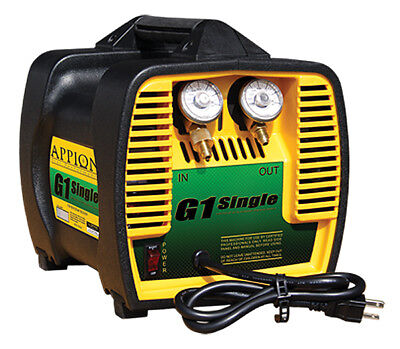 Appion G1 Single - Single Cylinder Refrigerant Recovery Machine
