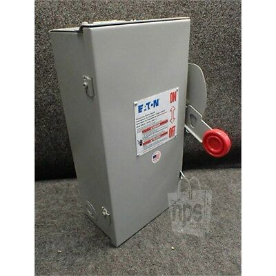 Eaton DH362URK Safety Switch, 60A, 3P, 600VAC/250VDC