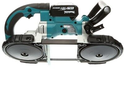 Makita Band Saw Tool 18 Volt Cordless Portable Metal Cutting Compact Soft Grip