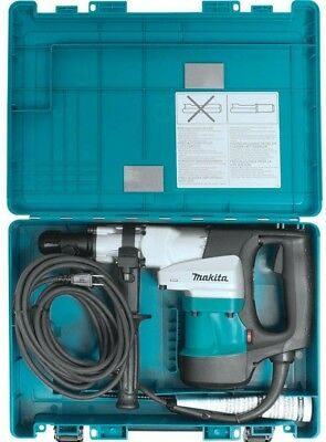 Makita 3/4 In Hex Corded 11 lb Demolition Hammer Drill Tool Case Chipping Tool