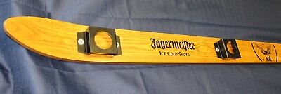 "Jagermeister 69"" Ski 4 Shot Glass Holder, Used, Bar Accessory, Nice Condition!"
