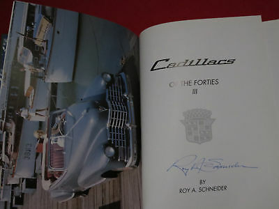 CADILLACS OF THE FORTIES BY RA SCHNEIDER 3 RD EDITION, NOS!!! SIGNED as long as
