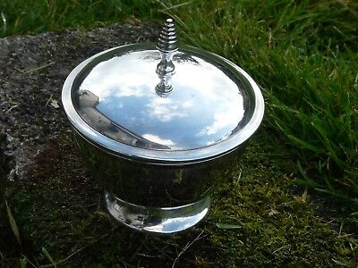 Beautiful silver plated Bon Bon dish by parks of london