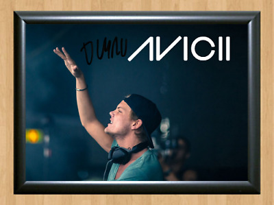 Avicii Wake Me Up DJ Signed Autographed A4 Photo Print Poster Memorabilia cd dvd