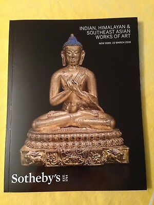 Sotheby Indian, Himalayan & South East Asian Works Of Art March 22, 2018