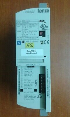 Lenze 8200 vector frequency inverter 0.55 Kw. - Used in good conditions