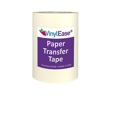 PAPER Application Transfer Tape for Sign Craft Vinyl in Two Sizes and Widths