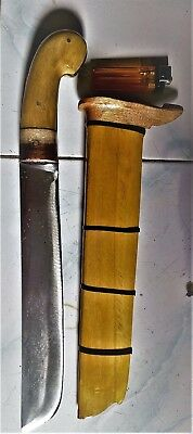 Betawi Golok Sword used in Betawi Silat and Occult Practices