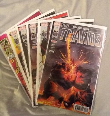 Thanos 13, 14, 15, 16, 17, 18. 'Thanos Wins' Storyline! First Print (Sold Out)