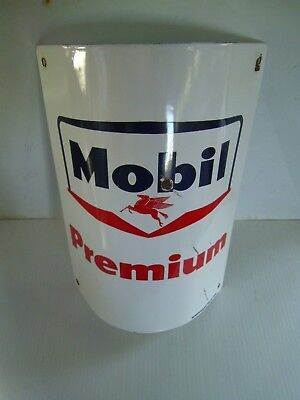 """Mobil Premium Foundry Sign 10""""w x 13""""high"""