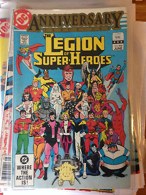 DC - The Legion of Super-Heroes - Anniversary Issue 300 - Superboy Supergirl