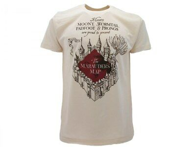 T-shirt originale Marauder's Map Malandrino Harry Potter Ufficiale Warner Bros