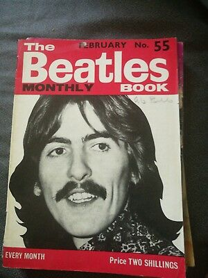 The Beatles Monthly Book - genuine copy from February 1968