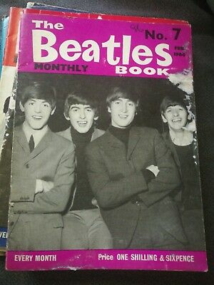The Beatles Monthly Book - genuine copy from February 1964