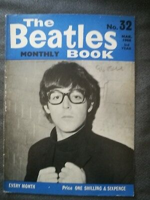 The Beatles Monthly Book - genuine copy from March 1966