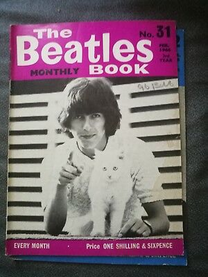 The Beatles Monthly Book - genuine copy from February 1966
