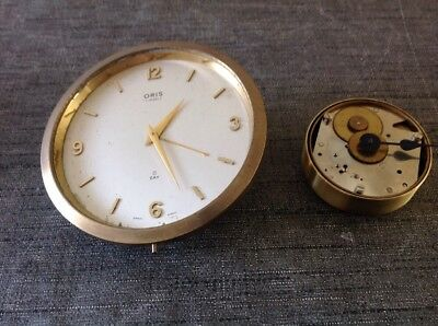 Antique 8 Day Clock Movements Oris Winds And Works Ex Clockmakers Collection