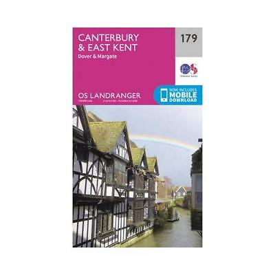 Canterbury & East Kent, Dover & Margate by Ordnance Survey