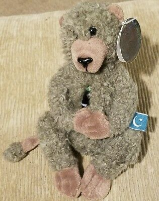 Croon the Baboon- Pakistan International Coca Cola Collection Beanbag Plush 1999