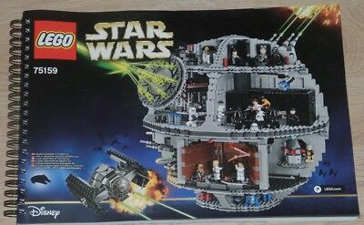 lego star wars todesstern death star 75159 bauplan anleitung instructions eur 24 95. Black Bedroom Furniture Sets. Home Design Ideas