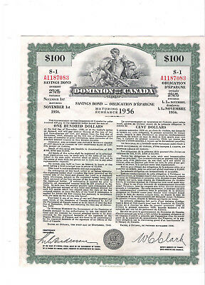 Canada Savings Bond- First issue 1946 extremely rare!