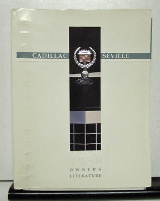 1990 Cadillac SEVILLE Owner's manual + POUCH OEM