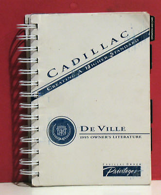 1995 Cadillac DEVILLE Owner's manual