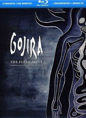 Gojira - The Flesh Alive - Limited Edition Deluxe Version - Blu-ray + CD