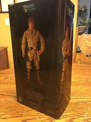 Sideshow Collectibles STAR WARS Luke Skywalker Rebel Bespin USED1:6 Scale 1/6