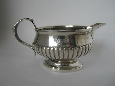 Georgian Solid Silver Milk Jug Made In London In 1752 By TB