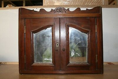 Victorian Bathroom corner cupboard