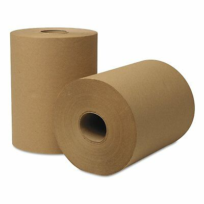 Paper Hand Towels Roll Brown Bulk Industrial Kitchen Catering 80m 1ply