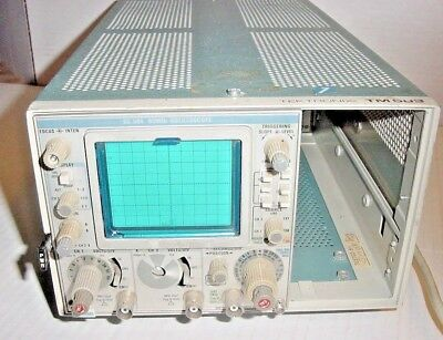 Tektronix SC503 80MHz Oscilloscope with Tektronix TM 503 Main frame