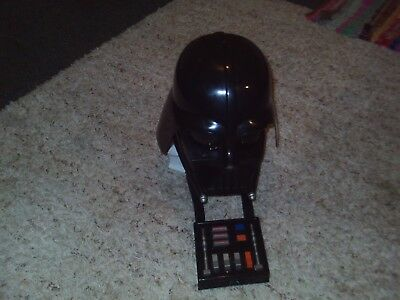Star Wars Darth Vader Helmet Mask Voice Changer Chest Box Hasbro 2004