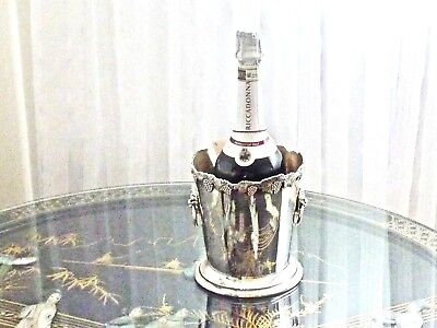 Fabulous Antique / Vintage Silver Plated Champagne Ice Bucket Carrington England
