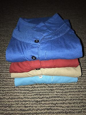 Four Mens Assorted Alfani Shirts Small S