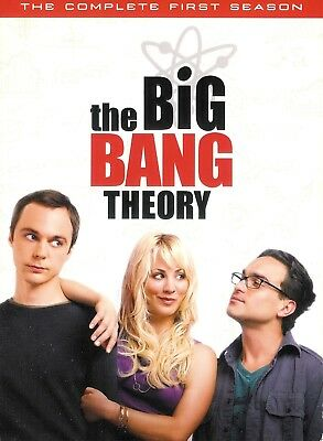The Big Bang Theory The Complete First Season DVD 3-Disc Box Set with Slipcover