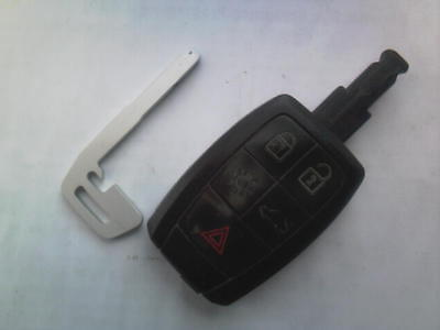 Genuine Volvo V40 V70 C70 S60 S80 Xc90 Etc Rf 5Button Remote Alarm Uncut Key Fob