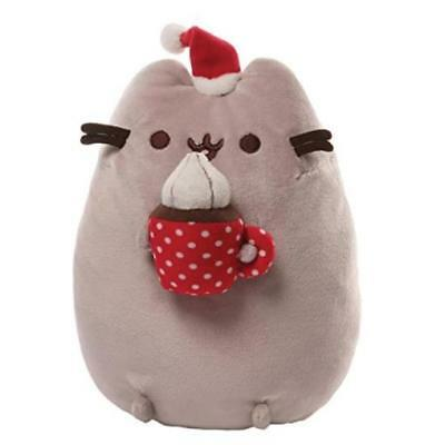 Gund Pusheen Christmas Snackable Plush Toy Play Soft Easy Clean MYTODDLER New