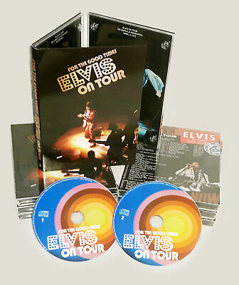 "Elvis Collector 2 CD  Digy Pack Set "" For the Good Times-Elvis on Tour """