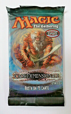 MTG Caos Dimensional booster 1 bag Italian 1x Magic The Gathering sealed