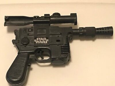 Vintage Kenner Star Wars Han Solo DL-44 Heavy Blaster Pistol Toy