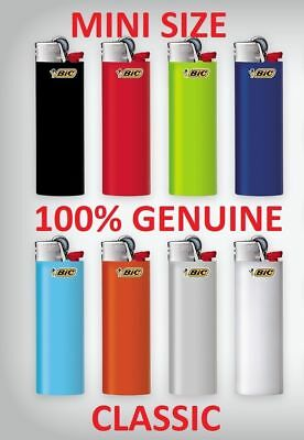 4 X J25 Bic Mini Small Disposable Gas Lighter Tobacco Cigarette No Zippo Clipper