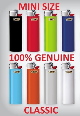 10 X J25 Bic Mini Small Disposable Gas Lighter Tobacco Cigarette N Zippo Clipper